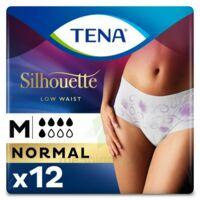 Tena Lady Silhouette Slip Absorbant Blanc Normal Médium Paquet/12 à MIRANDE