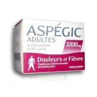 Aspegic Adultes 1000 Mg, Poudre Pour Solution Buvable En Sachet-dose 20 à MIRANDE
