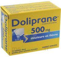 Doliprane 500 Mg Poudre Pour Solution Buvable En Sachet-dose B/12 à MIRANDE