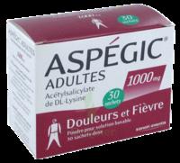 Aspegic Adultes 1000 Mg, Poudre Pour Solution Buvable En Sachet-dose 30 à MIRANDE