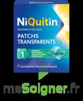 Niquitin 21 Mg/24 Heures, Dispositif Transdermique Sach/7 à MIRANDE