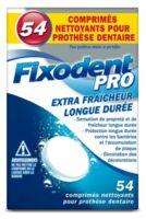 Fixodent Pro Comprimés Nettoyant Fraîcheur Longue Durée Pour Prothèse Dentaire B/54 à MIRANDE