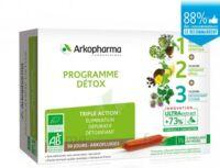 Arkofluide Bio Ultraextract Coffret Programme Détox 3x10 Ampoules/10ml à MIRANDE
