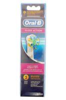 Brossette De Rechange Oral-b Floss Action X 3 à MIRANDE