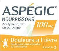 Aspegic Nourrissons 100 Mg, Poudre Pour Solution Buvable En Sachet-dose à MIRANDE