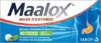Maalox Hydroxyde D'aluminium/hydroxyde De Magnesium 400 Mg/400 Mg Cpr à Croquer Maux D'estomac Plq/40 à MIRANDE