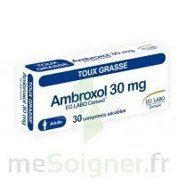 Ambroxol Eg Labo Conseil 30 Mg, Comprimé Sécable