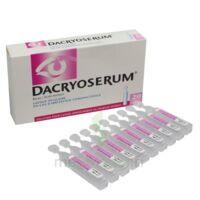 Dacryoserum Solution Pour Lavage Ophtalmique En Récipient Unidose 20unidoses/5ml à MIRANDE