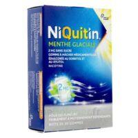 Niquitin 2 Mg Gom à Mâcher Médic Menthe Glaciale Sans Sucre Plq Pvc/pvdc/alu/30 à MIRANDE