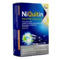 Niquitin 4 Mg Gom à Mâcher Médic Menthe Glaciale Sans Sucre Plq Pvc/pvdc/alu/30 à MIRANDE