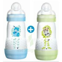 Mam Biberon Easy Start Anti-colique 260 Ml Lot De 2_ Bleu & Vert à MIRANDE