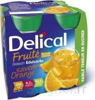 Delical Boisson Fruitee Nutriment édulcoré Orange 4bouteilles/200ml à MIRANDE