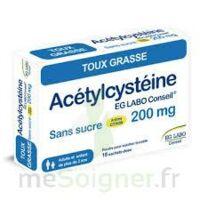 Acetylcysteine Eg Labo Conseil 200 Mg Sans Sucre, Poudre Pour Solution Buvable En Sachet-dose
