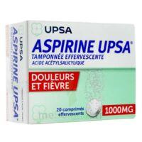 Aspirine Upsa Tamponnee Effervescente 1000 Mg, Comprimé Effervescent à MIRANDE