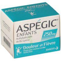Aspegic Enfants 250, Poudre Pour Solution Buvable En Sachet-dose à MIRANDE