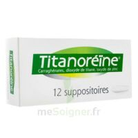Titanoreine Suppositoires B/12 à MIRANDE