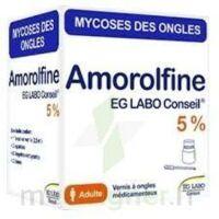 Amorolfine Eg 5 % V Ongles Médicamenteux 1fl/2,5ml+10 Spat à MIRANDE