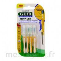 Gum Trav - Ler, 1,3 Mm, Manche Jaune , Blister 4 à MIRANDE