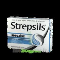 Strepsils Lidocaïne Pastilles Plq/24 à MIRANDE