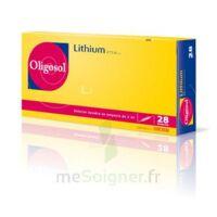 Oligosol Lithium Solution Buvable En Ampoule Ou En Récipient Unidose 28amp/2ml à MIRANDE