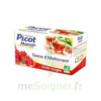 Picot Maman Tisane D'allaitement Fruits Rouges 20 Sachets à MIRANDE