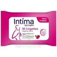 Intima Gyn'expert Lingettes Cranberry Paquet/30 à MIRANDE