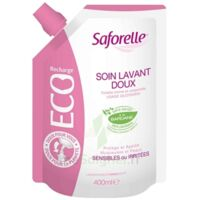 Saforelle Solution Soin Lavant Doux Eco-recharge/400ml à MIRANDE
