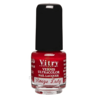 Vitry Vernis à Ongles Rouge Lady Mini Fl/4ml à MIRANDE