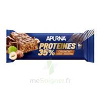 Apurna Barre Hyperprotéinée Crunchy Chocolat Noisette 45g à MIRANDE
