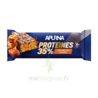 Apurna Barre Hyperprotéinée Crunchy Caramel 45g à MIRANDE