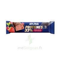Apurna Barre Hyperprotéinée Moelleuse Fruits Rouges 45g à MIRANDE