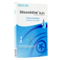 Desomedine 0,1 % Collyre Sol 10fl/0,6ml à MIRANDE