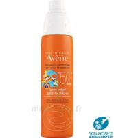 Avène Eau Thermale Solaire Spray Enfant 50+ 200ml à MIRANDE