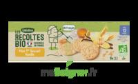 Blédina Les Récoltes Bio Mon 1er Biscuit Vanille 8 Sachets De 3 Biscuits à MIRANDE