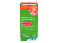 Chlorhexidine/chlorobutanol Mylan 0,5 Ml/0,5 G Pour 100 Ml, Solution Pour Bain De Bouche En Flacon à MIRANDE