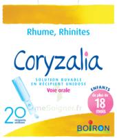 Boiron Coryzalia Solution Buvable Unidose B/20 à MIRANDE