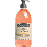 Savon De Marseille Liquide Fleur D'oranger 1l
