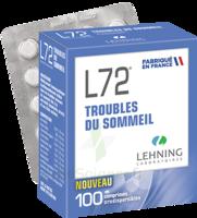 Lehning L72 Comprimés Orodispersibles Plq Pvc/pvdc/alu/100 à MIRANDE