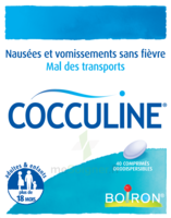 Boiron Cocculine Comprimés Orodispersibles B/40 à MIRANDE
